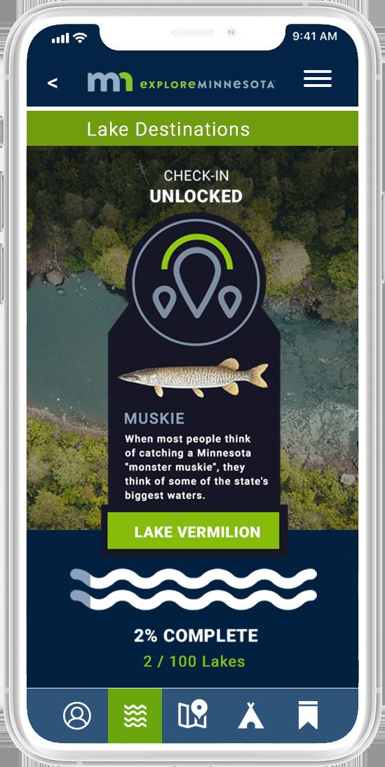 App Lake Check-In
